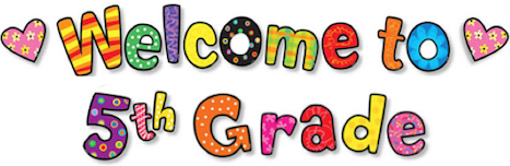 Image result for welcome to fifth grade